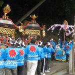 平成28年度 小河内養山八幡神社吹囃子行事